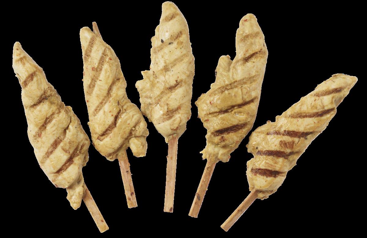 Kyllingspyd Thai flammegrillet