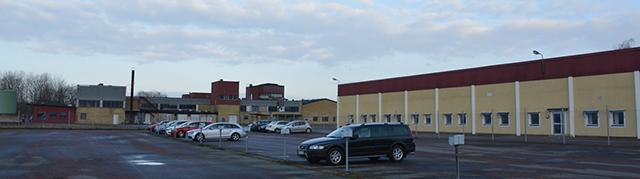 The facility in Karpalund, Kristianstad